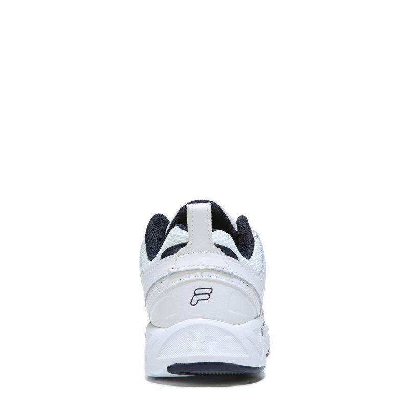 442ff12b96fb Fila Men s Capture Memory Foam Wide Training Shoes (White Navy) - 12.0 W