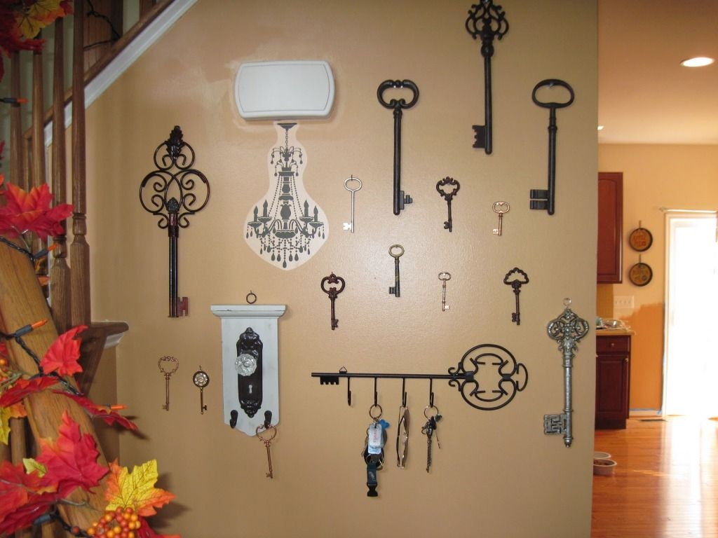 Beau Skeleton Key Wall Decor Pictures