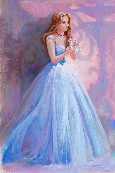 Dreaming to be a disney princess....