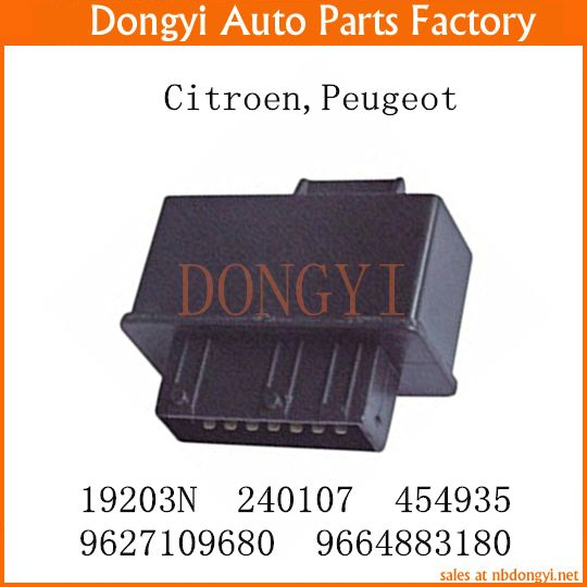 New Fuel Double Relay Oem 19203n 1920 3n 240107 454935 9627109680 9664883180 For Citroen Peugeot Citroen Peugeot Replacement Parts