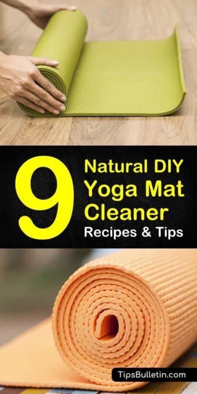 9 Simple But Effective Yoga Mat Cleaner Recipes