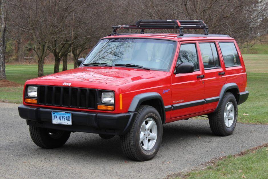 40kMile 1998 Jeep Cherokee Sport 4x4 Jeep cherokee