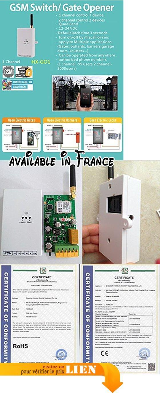 System eng Récepteur contrôle à distance GSM ouverture/fermeture de
