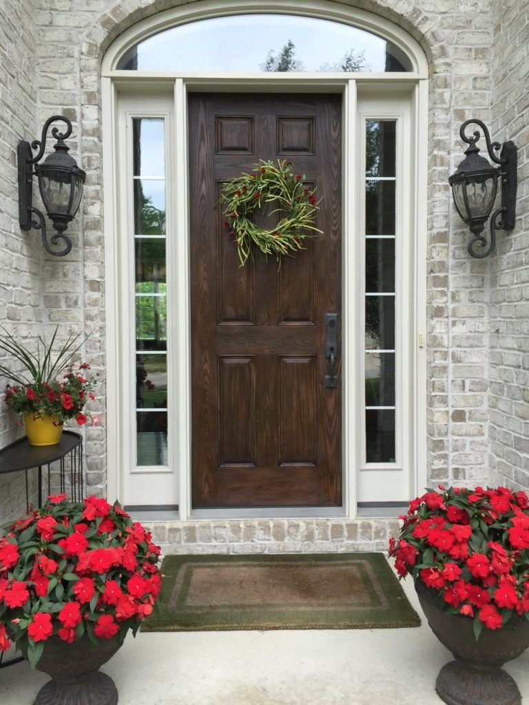 Front Entry Refresh Front Entry Front Door House Styles