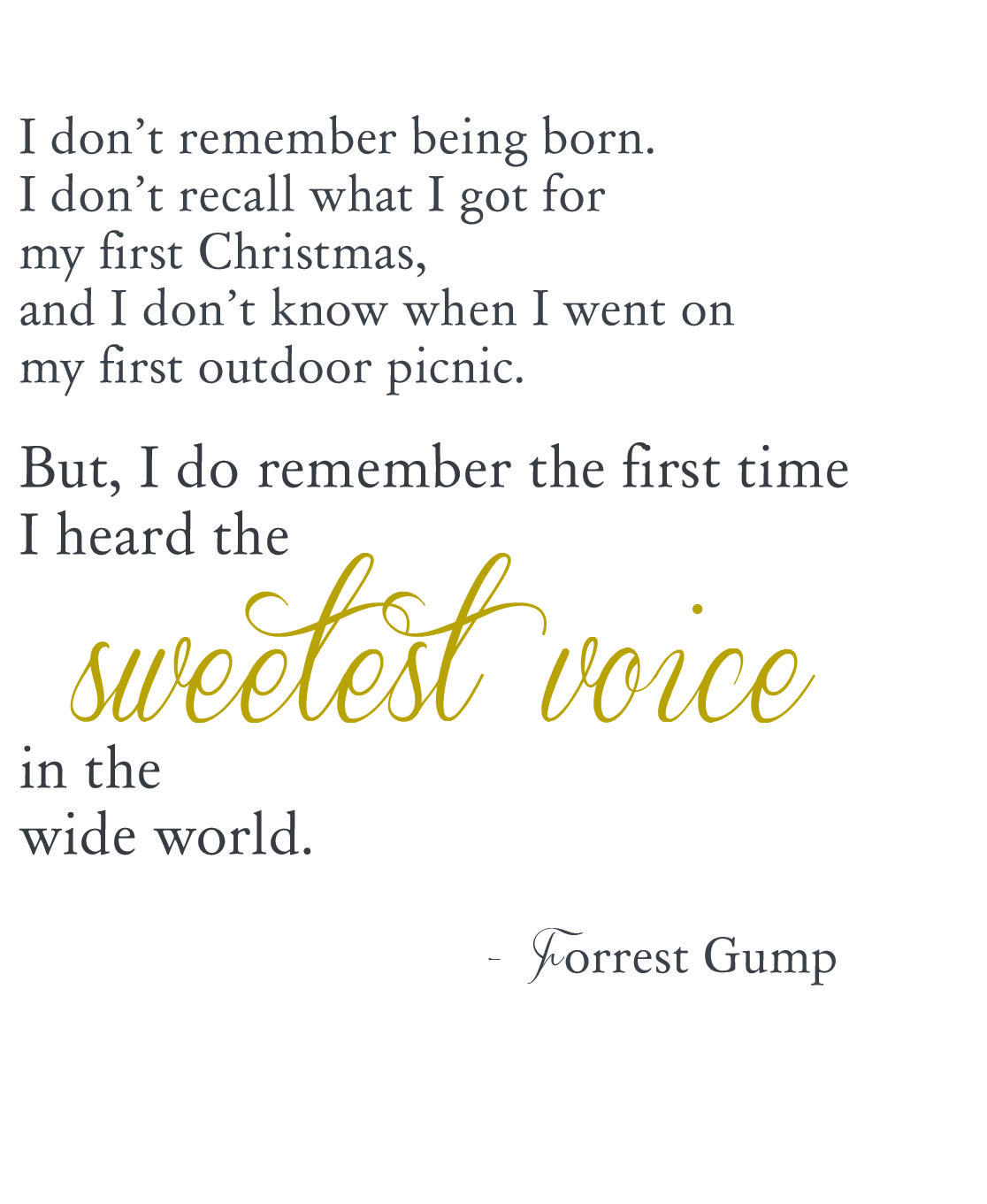The best Forrest Gump quote | Movie Quotes | Pinterest | Best ...