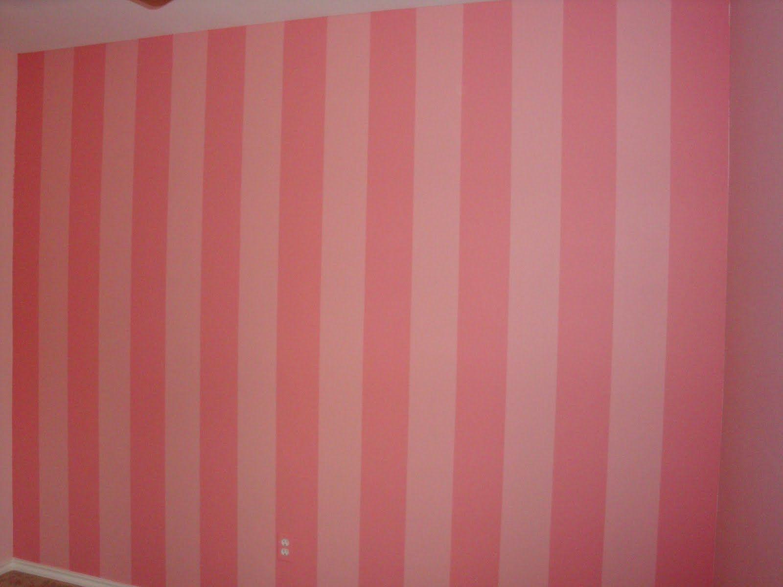Badezimmerdesign für mädchen pink striped walls  my children  pinterest