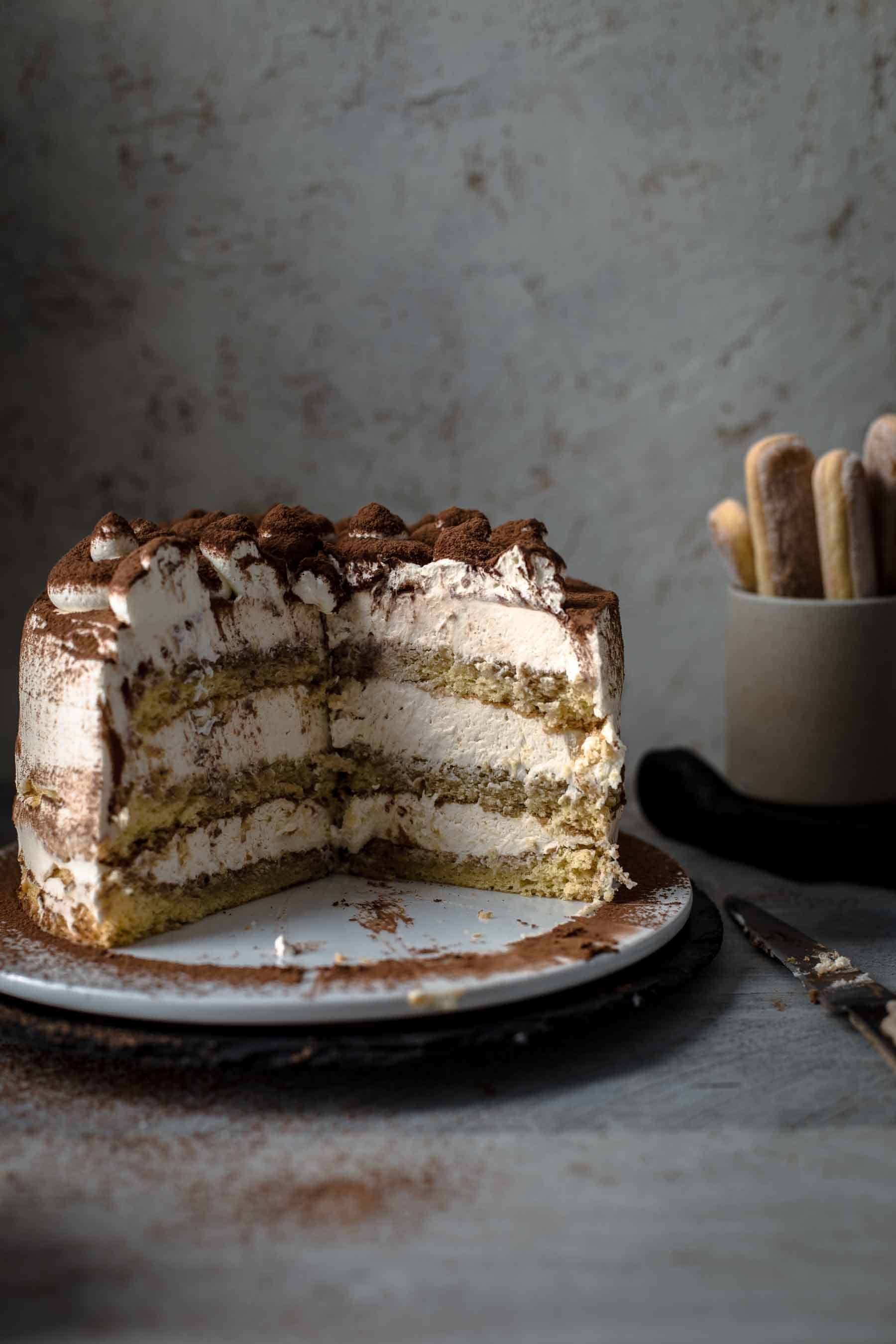 This Super Delicious Tiramisu Cake Recipe Comes With Detailed Step