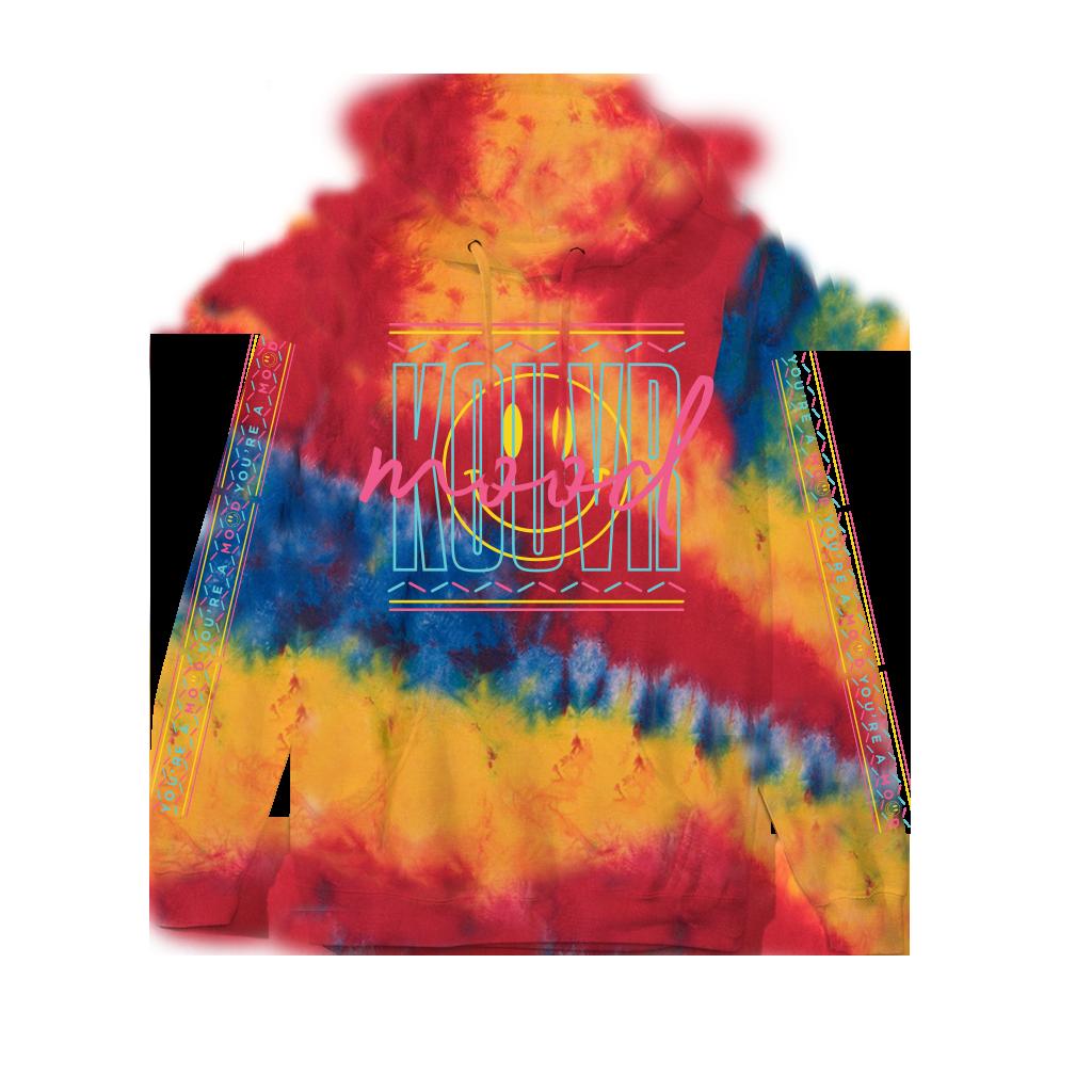 Kouvr Mood Primary Dyed Hoodie Hoodies Hip Hop Hoodies Merch [ 1024 x 1024 Pixel ]