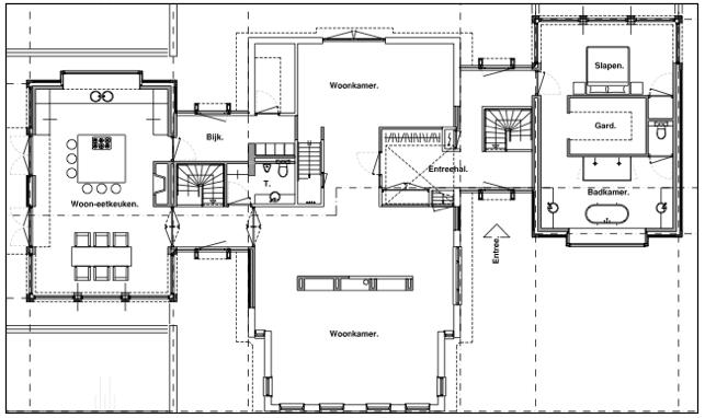 vrijstaande woning slaapkamer beneden - Google zoeken | 1522-woning ...