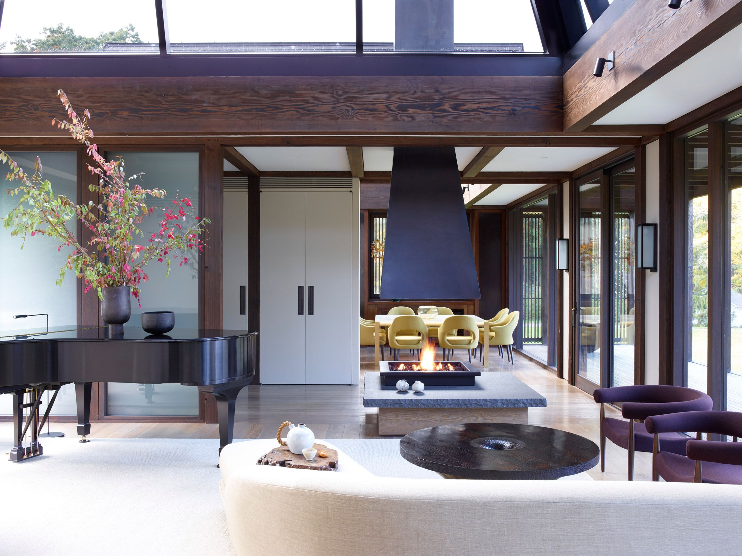 Pound Ridge House By Tsao Mckown Asian Home Decor Japanese