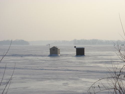 Crystal Bay on Lake Minnetonka. Bay on which David Lange's home resides.