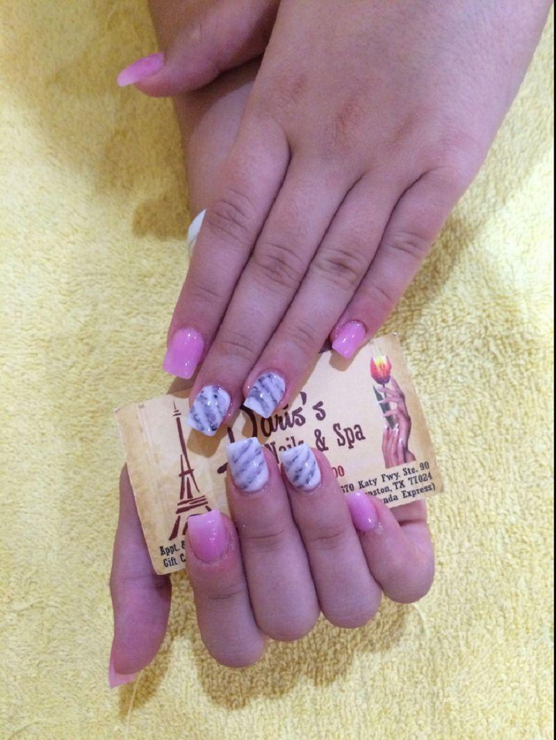 Paris S Nails Spa Top 1 Nails Salon In Houston Tx 77024 Paris Nails Nail Spa Manicure And Pedicure