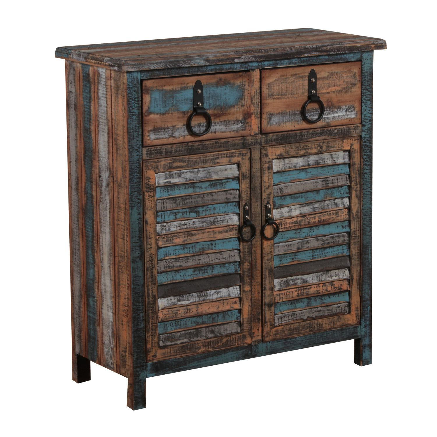 Powell Furniture Calypso 2 Drawer Console