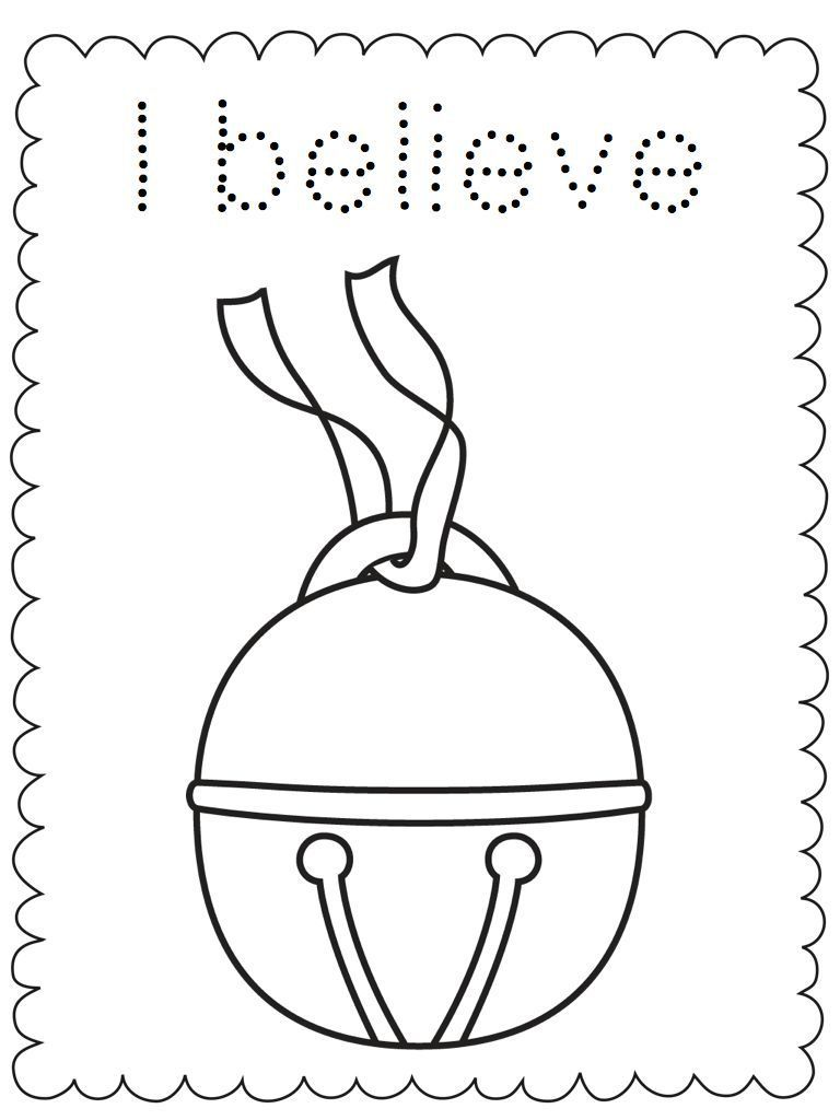 Christmas Coloring Pages   Polar express party, Christmas fun and Crafts