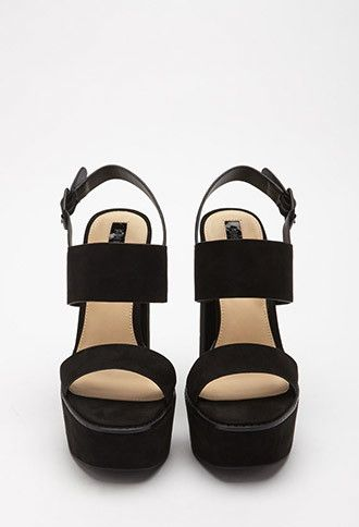 2e4b2fcd980 Faux Suede Strappy Sandals