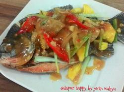 Resep Bawal Asam Manis By Yuyun Wahyu Aneka Resep Resep Masakan Masakan Resep