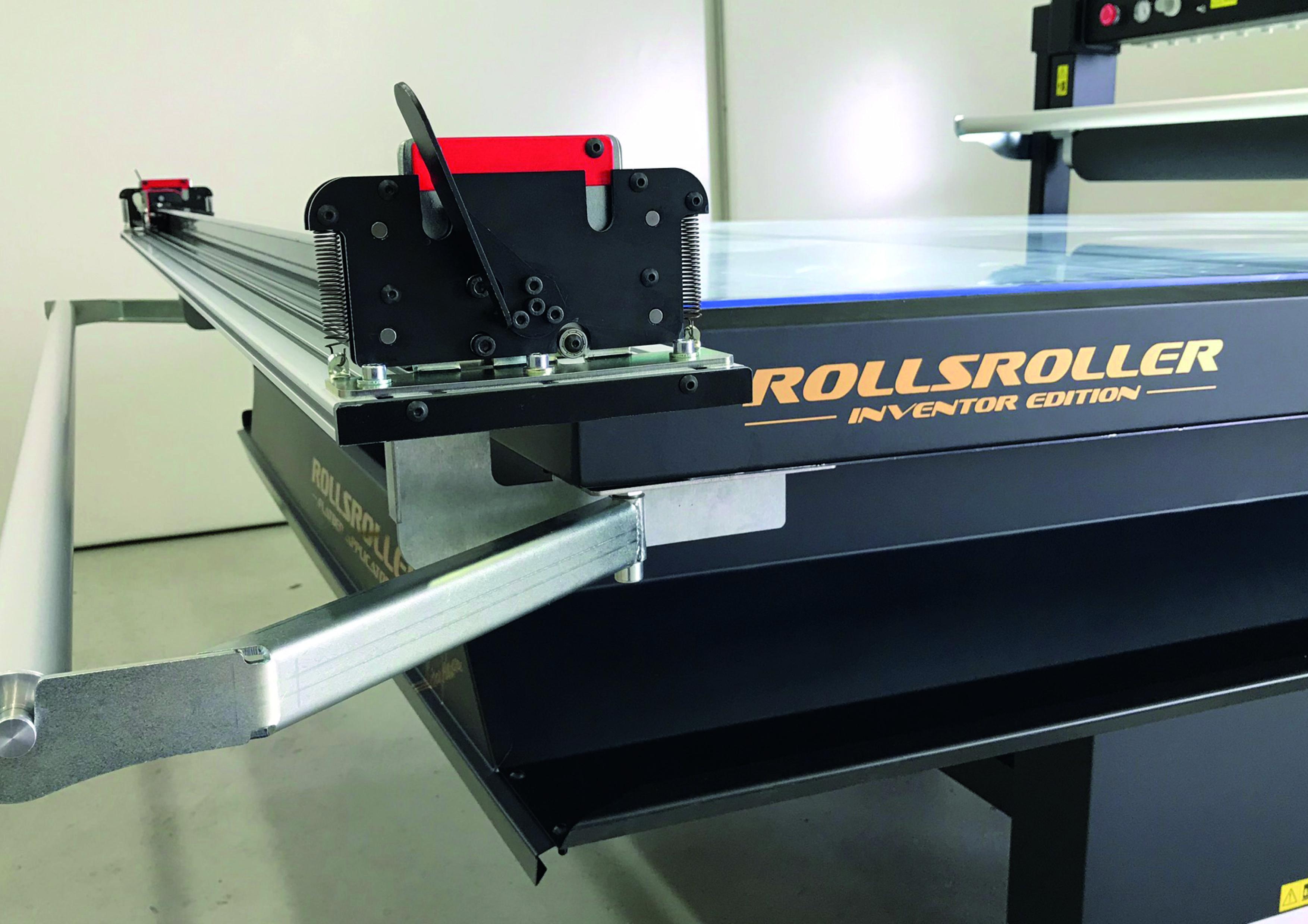 Pin Pa Rollsroller Flatbed Applicator