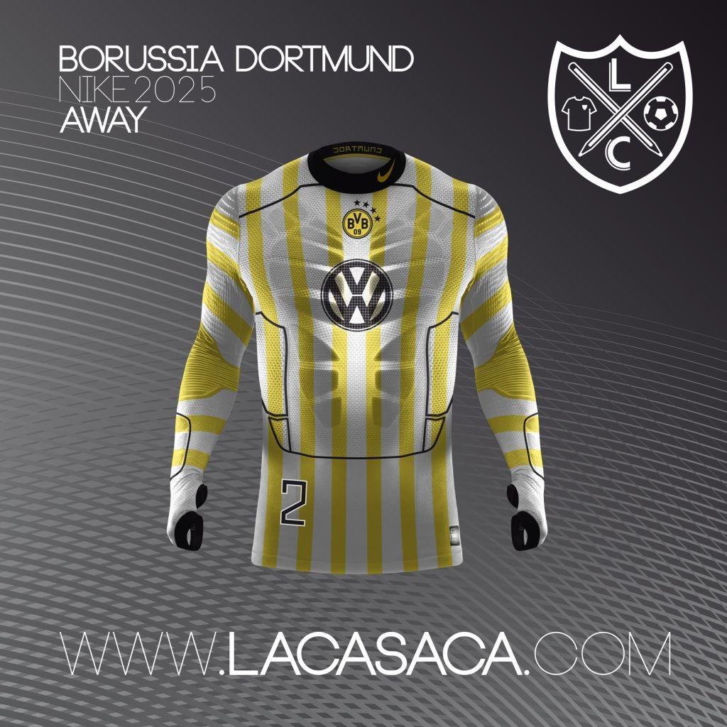 Nike 2025 Fantasy Kits - Dortmund Away  dbffd863a5e