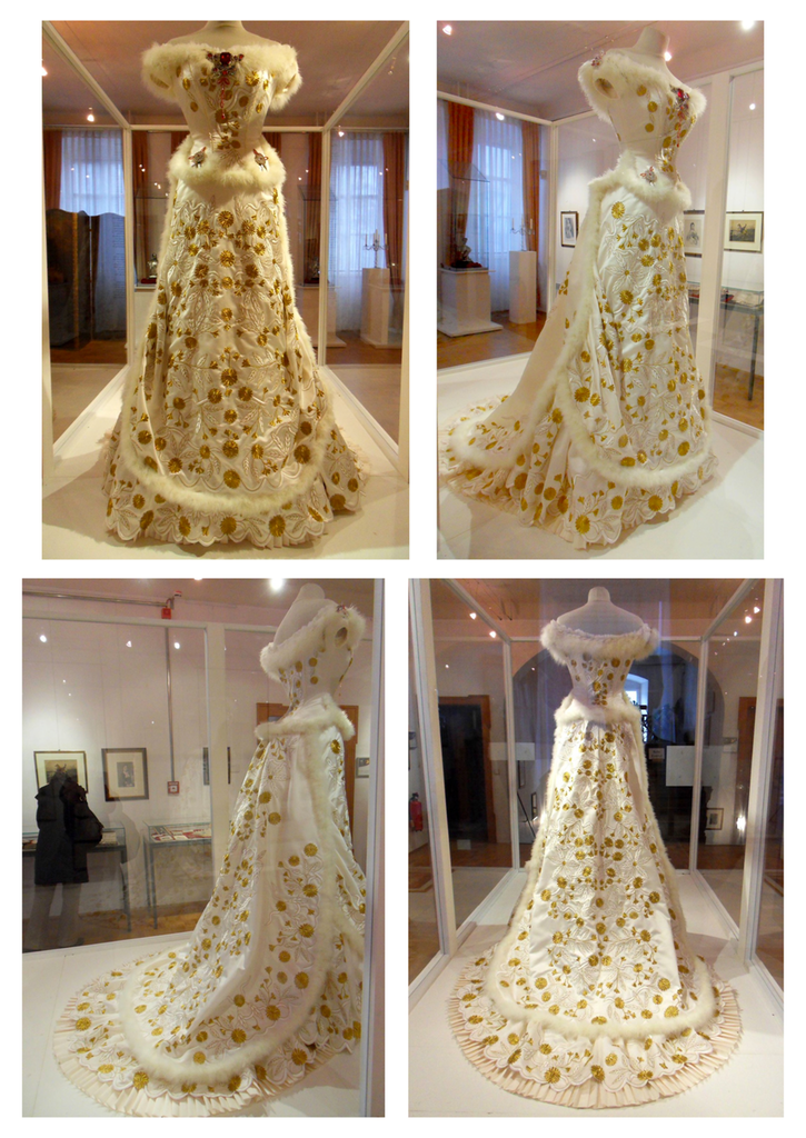 A Replica Of Empress Sisiu0027s 1879 Diamond Wedding Anniversary Dress | Grand  Ladies | Gogm