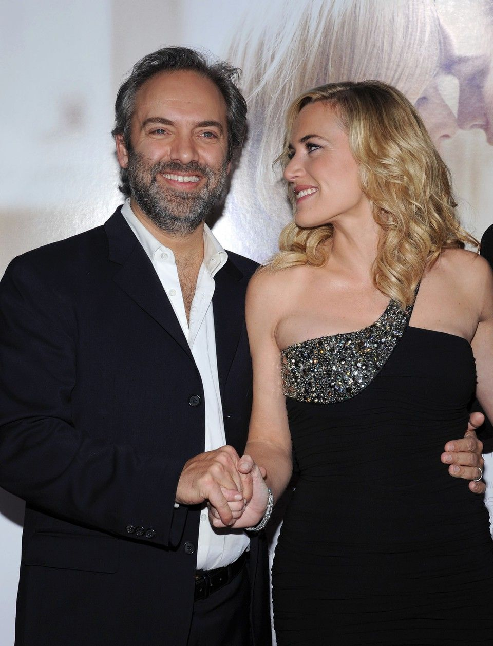 Odd Couple Kate Winslet and Sam Mendes