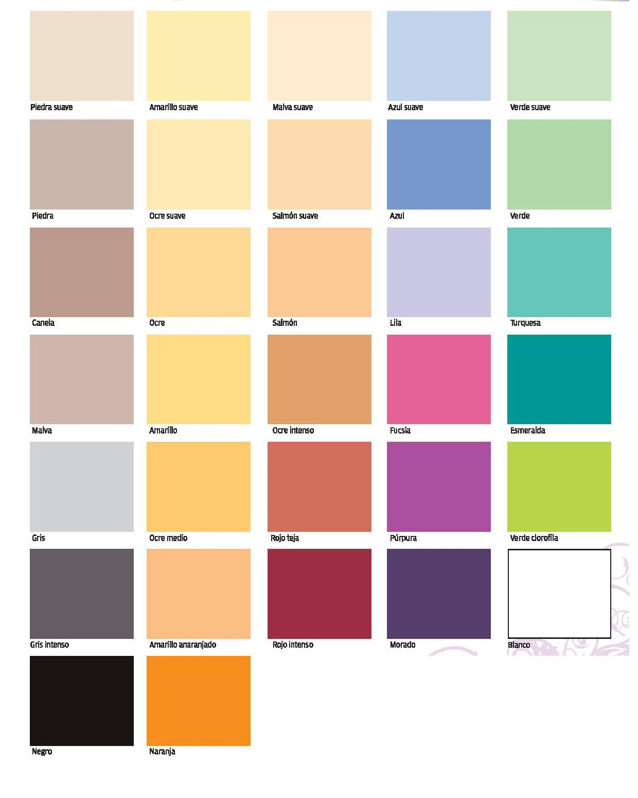 Carta de colores titan paletas en 2019 colores de - Carta de colores para pintar paredes interiores ...