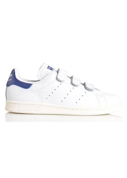 E-shop Baskets Stan Smith En Cuir Craquelé Blanc Adidas pour femme sur Place des tendances Groupe Printemps. Retrouvez toute la collection Adidas pour femme.
