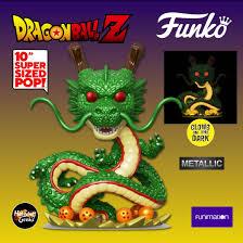 2020 New Funko Pop Dbz Shenron Metallic Gitd 10 Inch Hot Stuff 4 Geeks Funko Funko Pop Vinyl Figures