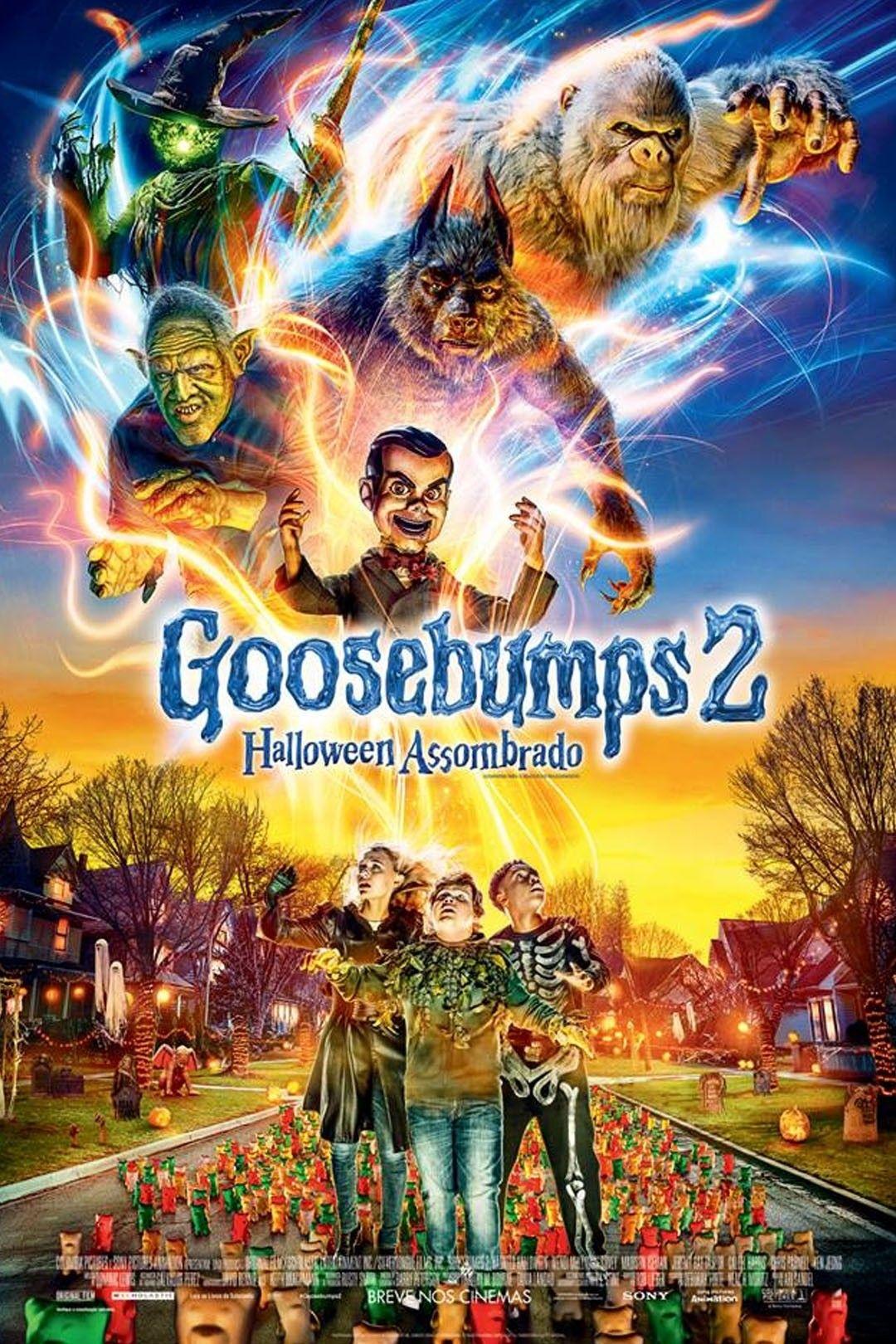 Goosebumps 2 Halloween Assombrado With Images Halloween Full