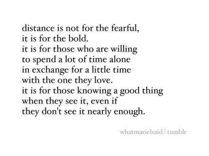 Long Distance Relationship Words Quotes Me Quotes