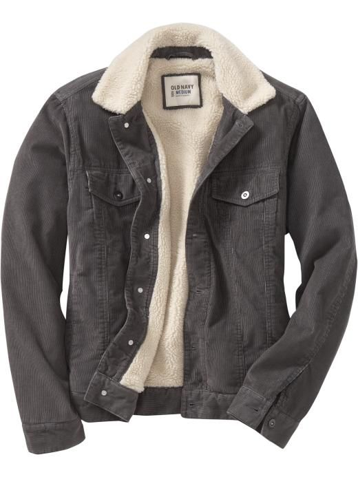 Men's Sherpa-Lined Cord Jackets Product Image | Things I should ...