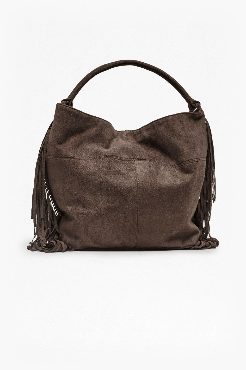 Tamara Tasselled Faux Suede Bag | Bags | Great Plains