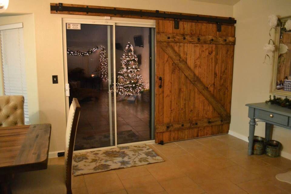 Barn Door Slider Love It Over The Sliding Doors At