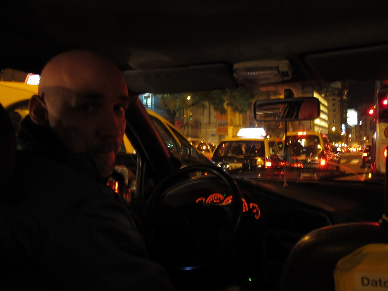 Taxi © Juan Izquierdo Brown