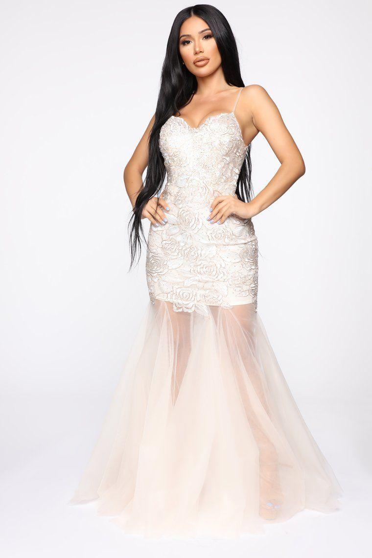 At Last Gown White in 2020 Elegant dresses for women