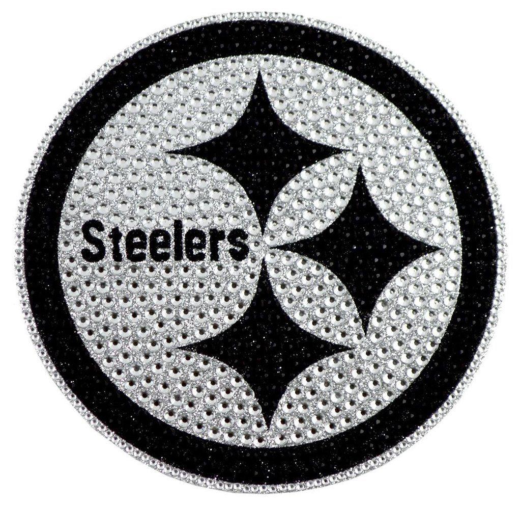 7140702ad Pittsburgh Steelers Auto Emblem - Rhinestone Bling