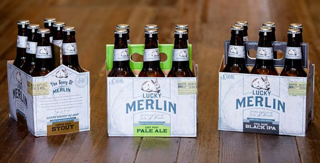 Beer packing design by Durham Brand & Co.; Cool beer labels