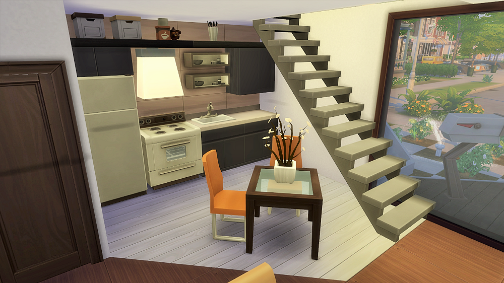Obejrzyj t parcel w Galerii The Sims 4 Moderna hus Dekor och