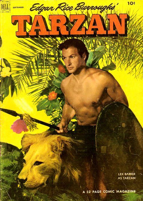Tarzan Vol. 1 Nº 36 Dell Publishing (USA) Sep 1952