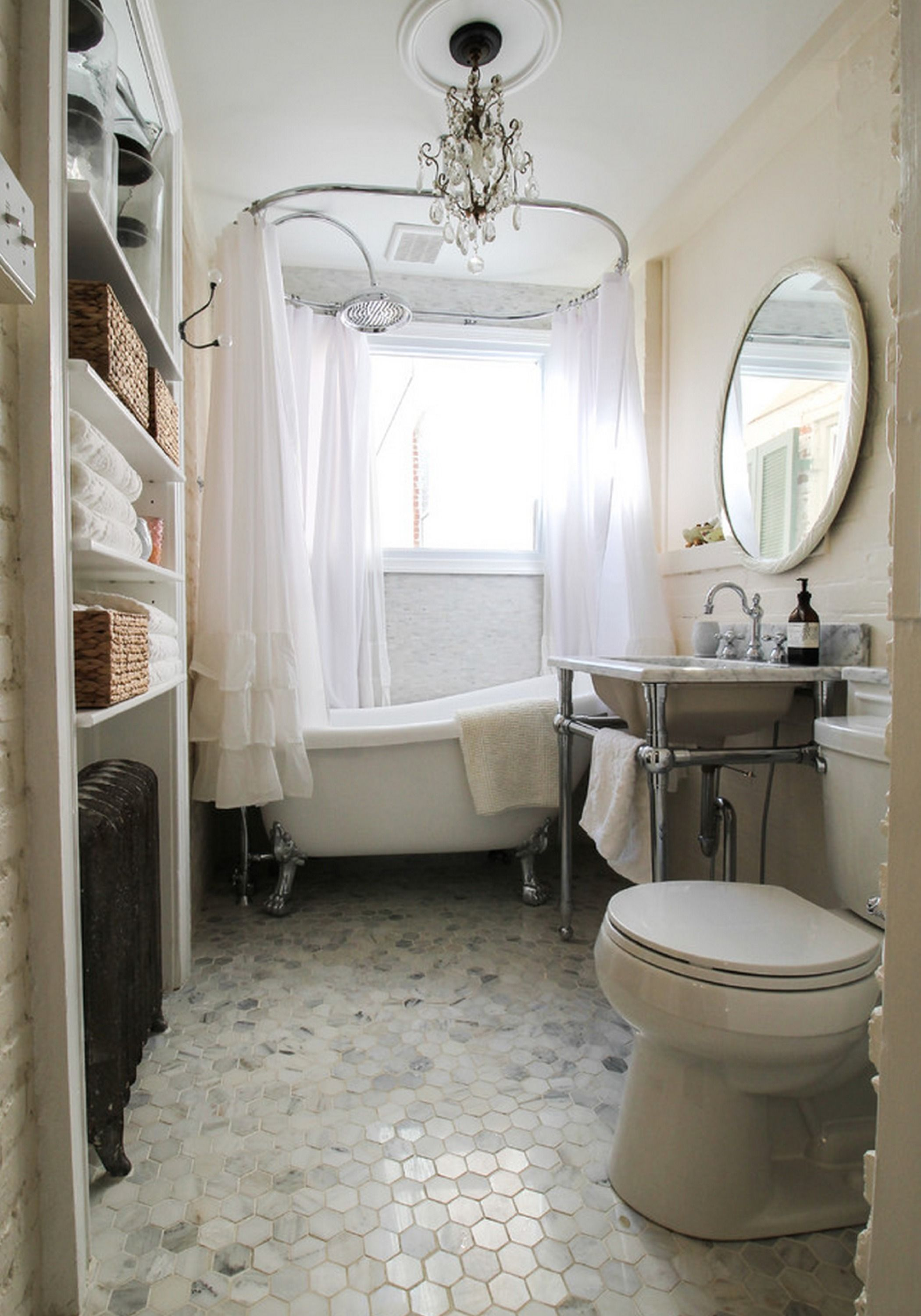 Edwin Acrylic Slipper Tub - Lion Paw Feet | Dream Home | Pinterest ...