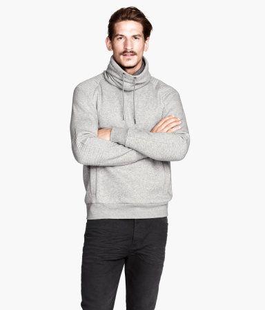 30 Sweater W Chimney Collar H M Us Men S Fashion Pinterest