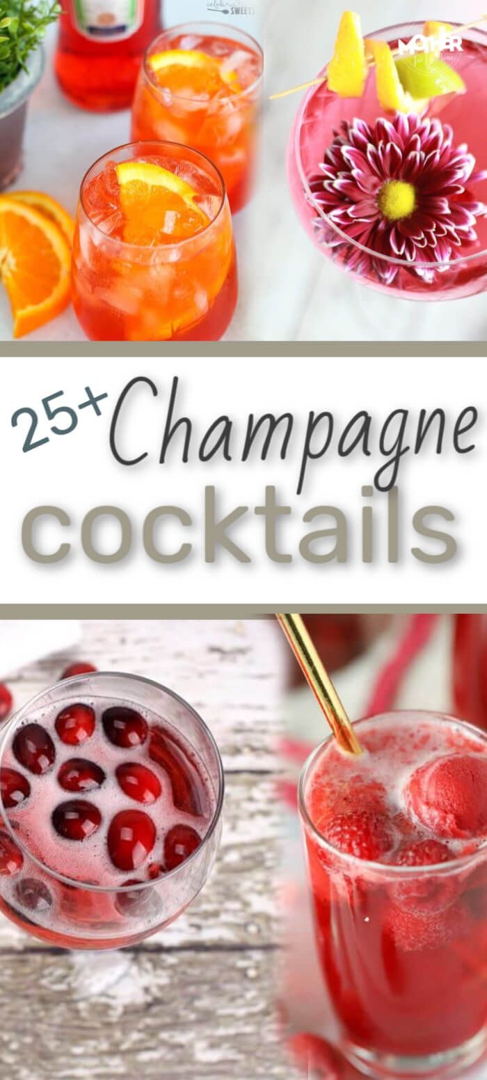 25+ Champagne Cocktail Recipes For Your Festive Bash