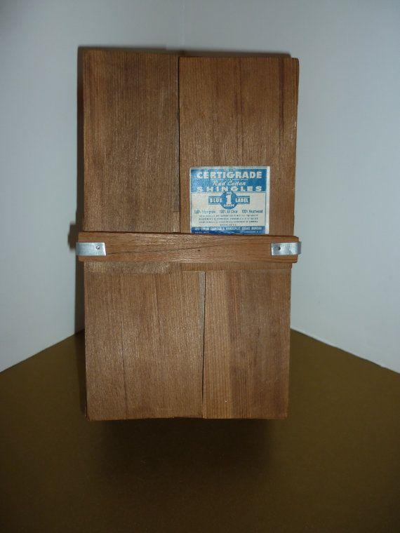 Best 1963 Salesman Sample Red Cedar Shingle By 400 x 300