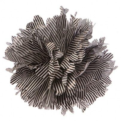 Large Black Candy Stripe