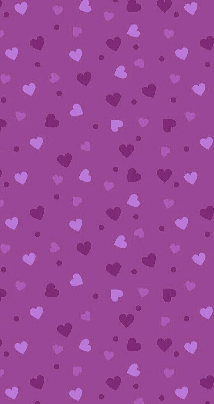 Pretty Iphone Wallpapers Cell Phone Backgrounds Wallpaper Heart Glitter Purple Hearts
