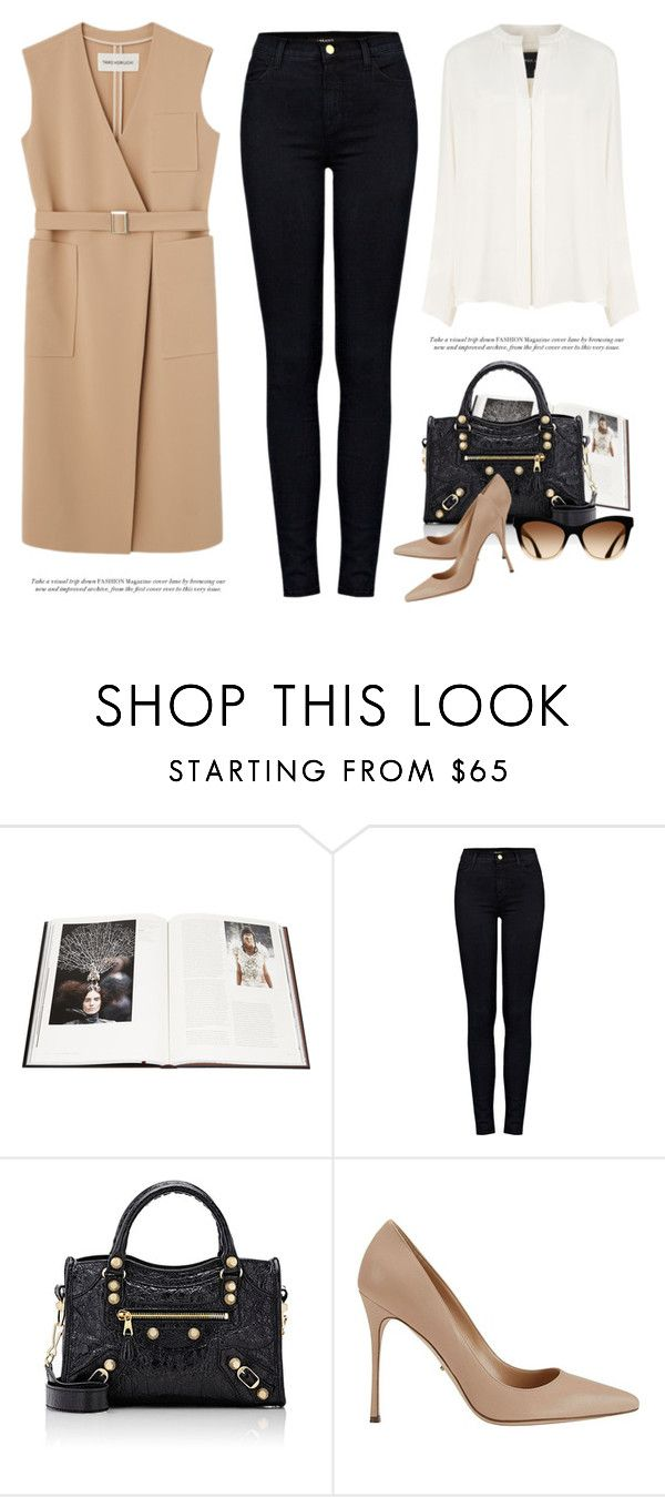 """""""..."""" by yexyka ❤ liked on Polyvore featuring Abrams, J Brand, Balenciaga, Sergio Rossi and Derek Lam"""