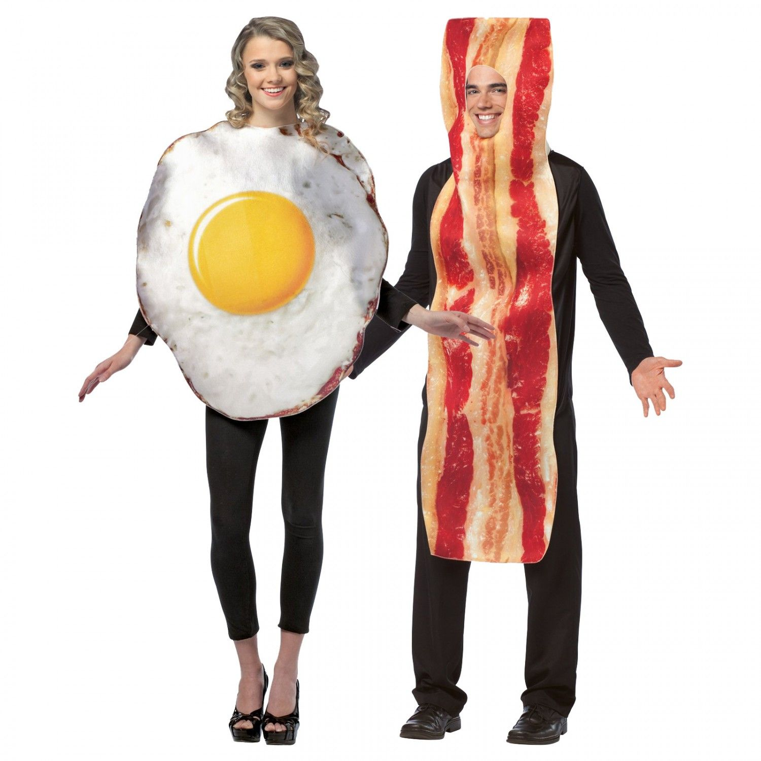 couples costumes bacon and eggs costume adult costumes for couples costume ideas. Black Bedroom Furniture Sets. Home Design Ideas