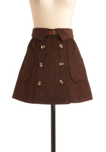 Cross the Quad Skirt | Mod Retro Vintage Skirts |