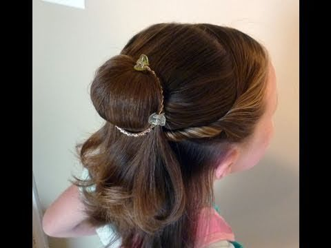 Bell Princess Hair Style And It S So Easy Belle Hairstyle Princess Hairstyles Short Hair For Kids