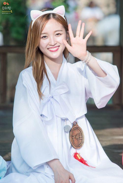Xuan Yi as a nine tailed fox | KPOP GIRLS | Pinterest ...