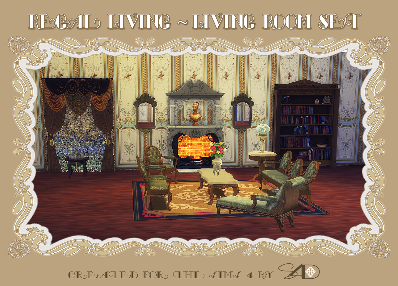 ts to ts regal living  living room set  sims  designs  sims  - ts to ts regal living  living room set  sims  designs